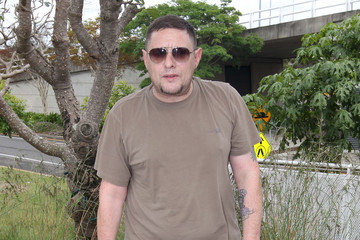 Shaun Ryder Celebrities Arriving In Brisbane, Australia