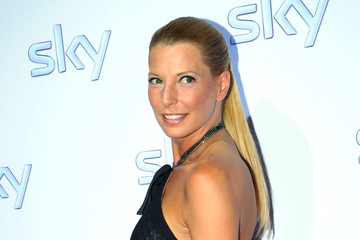 Giulia Siegel Celebrities Arriving At Sky Party In Munich