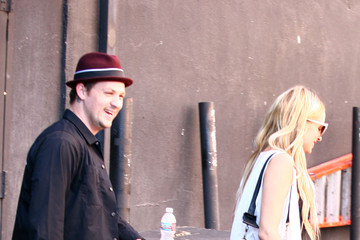 Nicole Richie Benji Madden Celebrities Attending A Selena Gomez Concert At The Roxy In West Hollywood