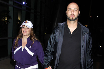Esteban Loaiza Celebrities Come Out For The Lakers