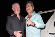 Celebrities dine out at Craig's Restaurant on August 7, 2014 in West Hollywood, California.