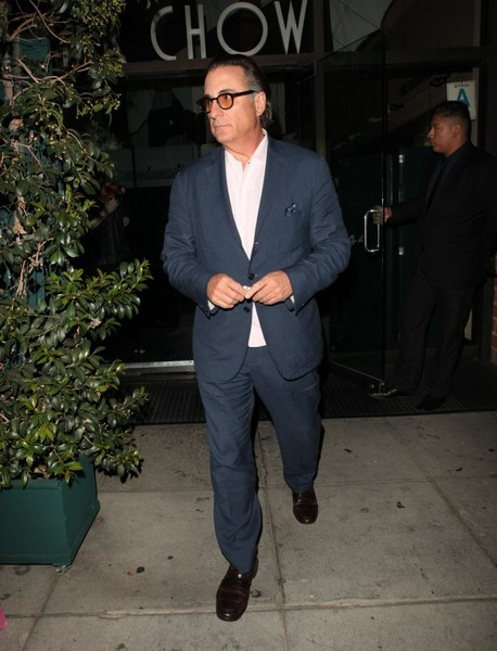Andy Garcia Out in Beverly Hills