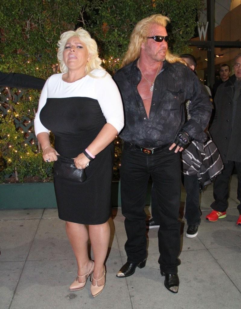 beth chapman photos photos celebrities dine out at mr