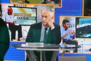 """Celebrities stop by """"Good Morning America"""" in Times Square, New York City, New York on March 14, 2016.<br /> Pictured: Jorge Ramos"""