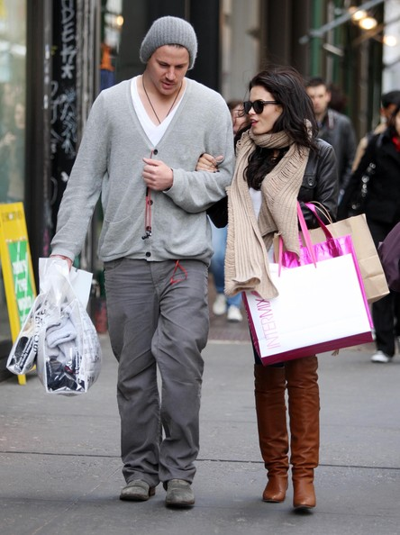channing tatum wife. Actor Channing Tatum and his wife Jenna Dewan out shopping in Soho, NYC.