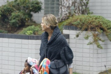 Charlize Theron Charlize Theron and Her Kids Show Off Their Halloween Spirit While Heading to a Party in Beverly Hills