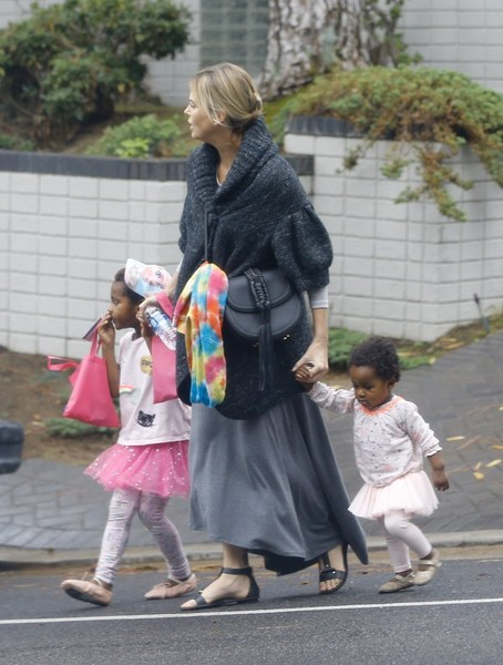 Charlize Theron and Ja... Charlize Theron Children