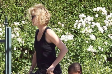 Charlize Theron Charlize Theron Leavea a Play Date in LA