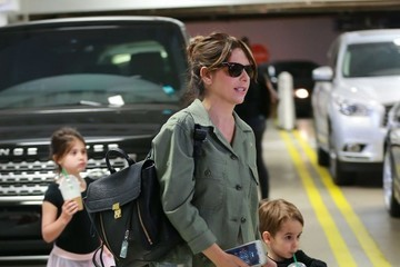 Charlotte Prinze Sarah Michelle Gellar Leaves a Ballet Class With Her Children