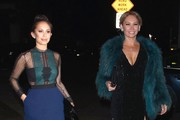 """Dancing With the Stars"" dancers Cheryl Burke and Kym Johnson enjoy a girl's night out on December 7, 2015 in West Hollywood, California. The pair took to Twitter to share pics of their girl's night out."