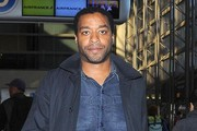 Chiwetel Ejiofor Departing On A Flight At LAX