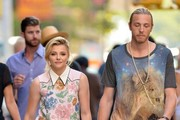 Chloe Grace Moretz Holds Hands with Her Brother