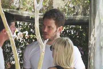 Chris Pratt Chris Pratt and Anna Faris Do Brunch