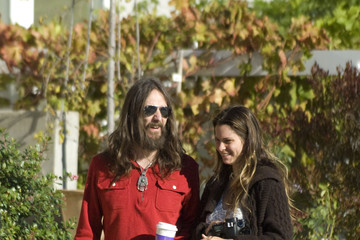 Allison Bridges Chris Robinson At His Son's Halloween Party In Los Angeles