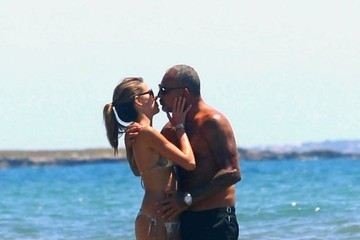 Christian Audigier Christian Audigier and His Girlfriend Vacation in Ibiza