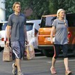 Christian Dunst Kirsten Dunst Stops by Whole Foods
