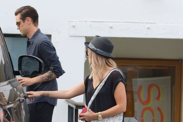 Christopher French Ashley Tisdale and Christopher French Go Shopping in Studio City