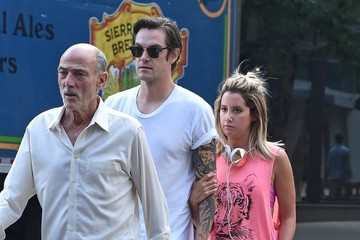 Christopher French Ashley Tisdale and Christopher French Go to the Gym
