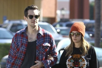 Christopher French Ashley Tisdale & Christopher French Have Breakfast At Mo's