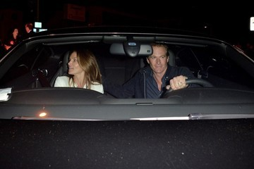 Cindy Crawford Cindy Crawford and Husband Rande Gerber Dine at Craig's Restaurant