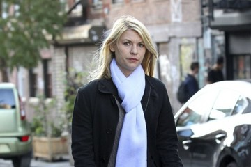 Claire Danes Claire Danes Films 'Homeland' in Brooklyn