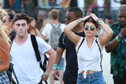 Celebrities at Day 3 of first weekend of The Coachella Valley Music and Arts Festival in Indio, California on April 11, 2015.<br /> Pictured: Sofia Richie