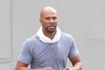 Common Common Runs Errands in West Hollywood