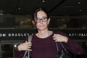 Courteney Cox Arrives at LAX Airport
