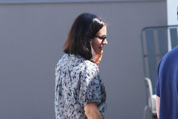 Courteney Cox Courteney Cox Stops by Her West Hollywood Office
