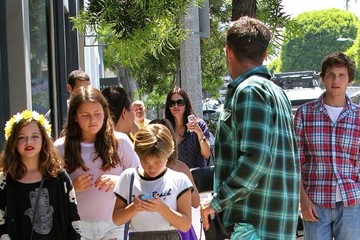 Courteney Cox Courteney Cox & David Arquette Shopping In Hollywood