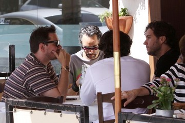 DJ AM DJ AM Out For Lunch In Beverly Hills