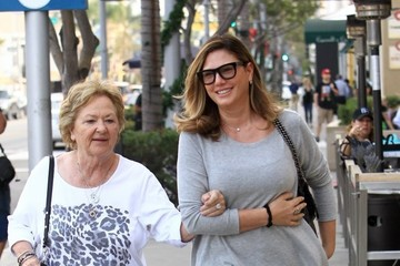 Daisy Fuentes Daisy Fuentes Takes Her Mother to the Salon