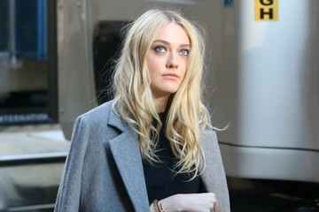 Dakota Fanning 'Ocean's Eight' Films in NYC