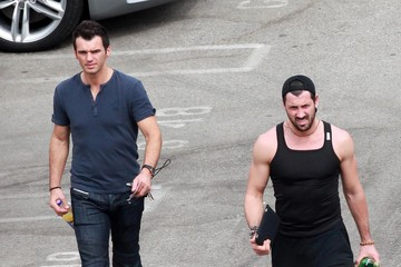 Maksim Chmerkovskiy Tony Dovolani 'Dancing With The Stars' Contestants Arriving For Tonight's Show