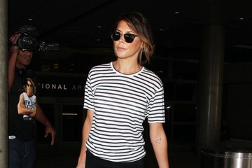 Danielle Bux Danielle Lineker Touches Down at LAX