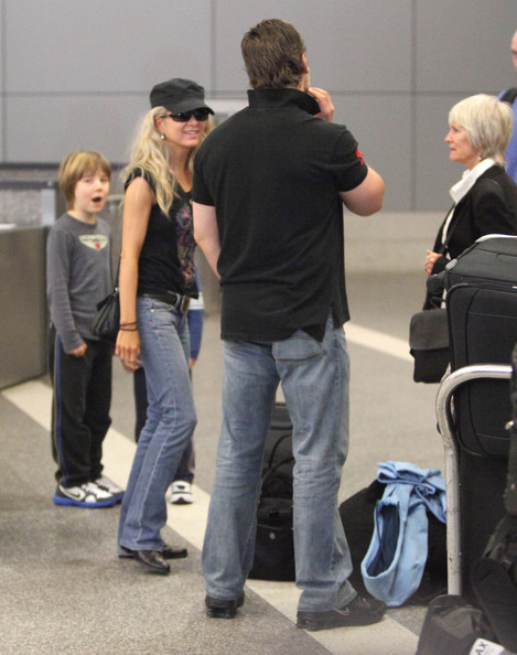 Russell Crowe at LAX