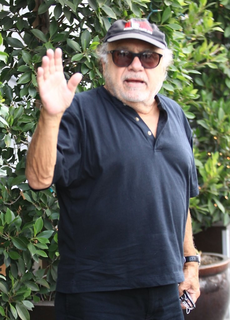 danny de vito has lunch with friends in beverly hills zimbio. Black Bedroom Furniture Sets. Home Design Ideas