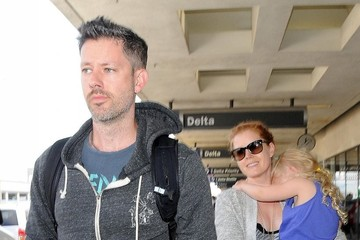 Darren Le Gallo Amy Adams Spends the Day with Family