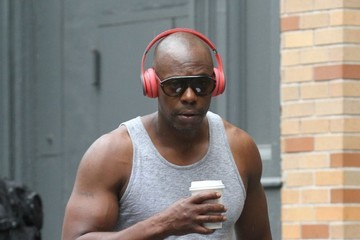 Dave Chappelle Dave Chappelle Drinks Coffee While Out in NYC