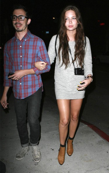 Daveigh Chase and boyfriend