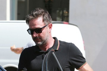 David Arquette David Arquette Leaves a Lunch Meetin