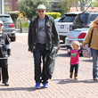Jaden Boreanaz David Boreanaz And Family Out Shopping In Malibu