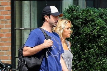 David Schwimmer David Schwimmer and Zoe Buckman in NYC