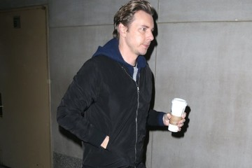 Dax Shepard Celebrities At 'The Today Show' In NYC