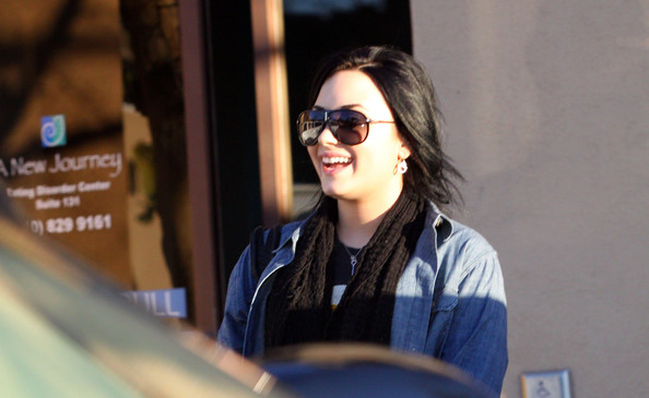 Demi Lovato At 'A New Journey' Eating Disorder Center