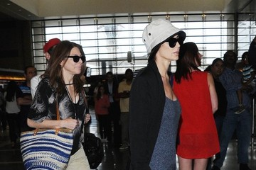 Demi Moore Demi Moore Catches a Flight at LAX