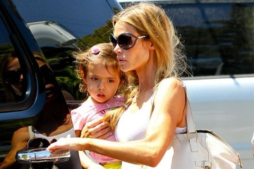 Denise Richards Eloise Richards Denise Richards Spends the Day with Her Kids