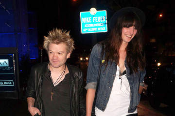 Deryck Whibley Deryck Whibley And Girlfriend Out For Dinner In West Hollywood