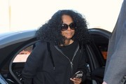 Diana Ross Spotted at the Airport
