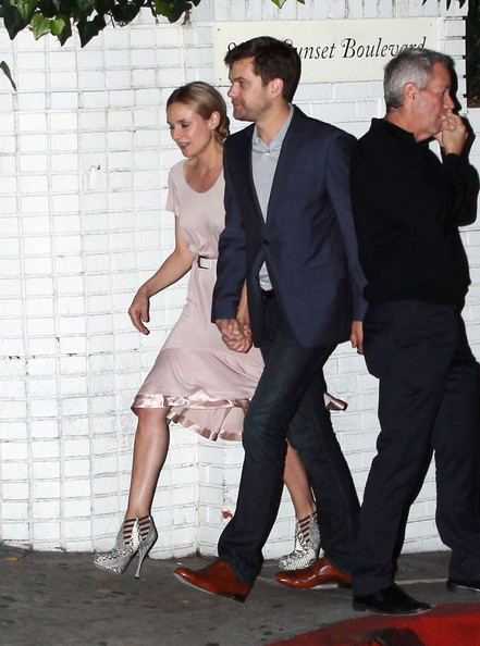 Diane Kruger Celebrities are seen leaving the Chateau Marmont in